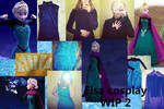 Elsa Coronation Cosplay WIP 2