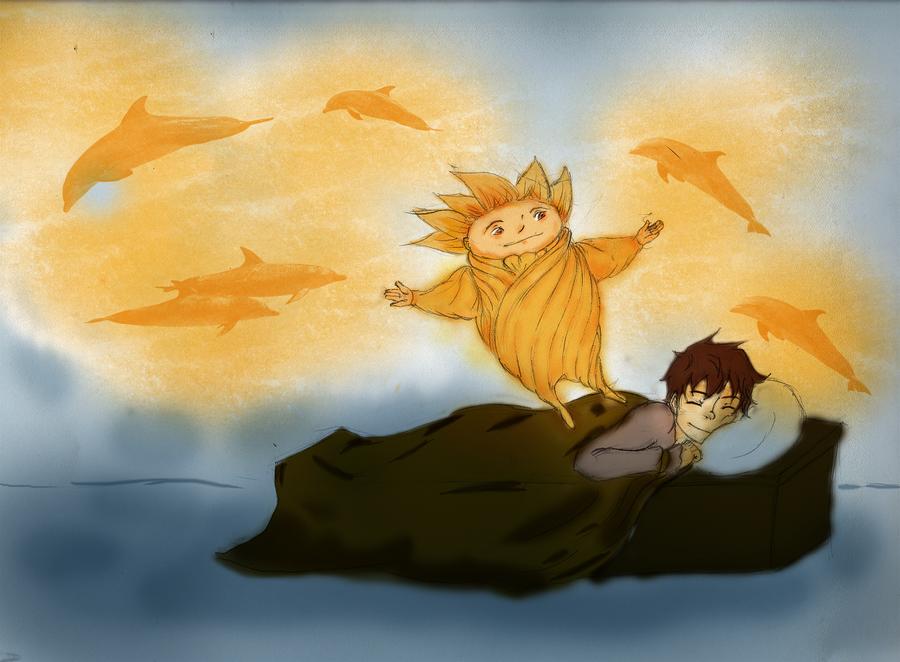 RoTG :: Jack and Sandy by SkyLangitCielCielo