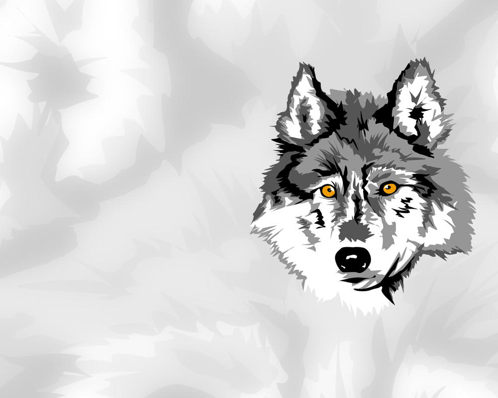 -Wolf Vector by outthere