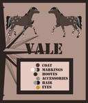 Vale - Reference Sheet