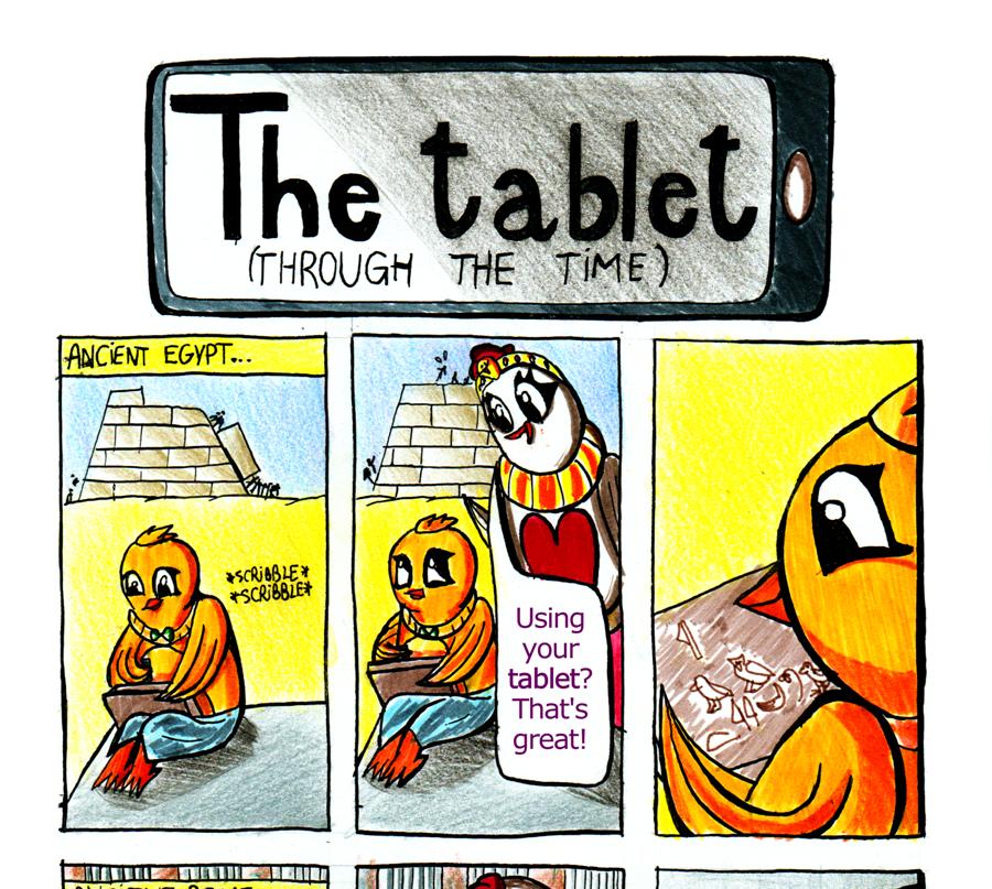 Let's Chicken - The Tablet - Read Description by ellycolor