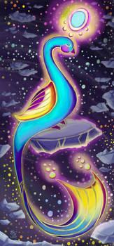 Astral Peace - Digital Illustration, 2020