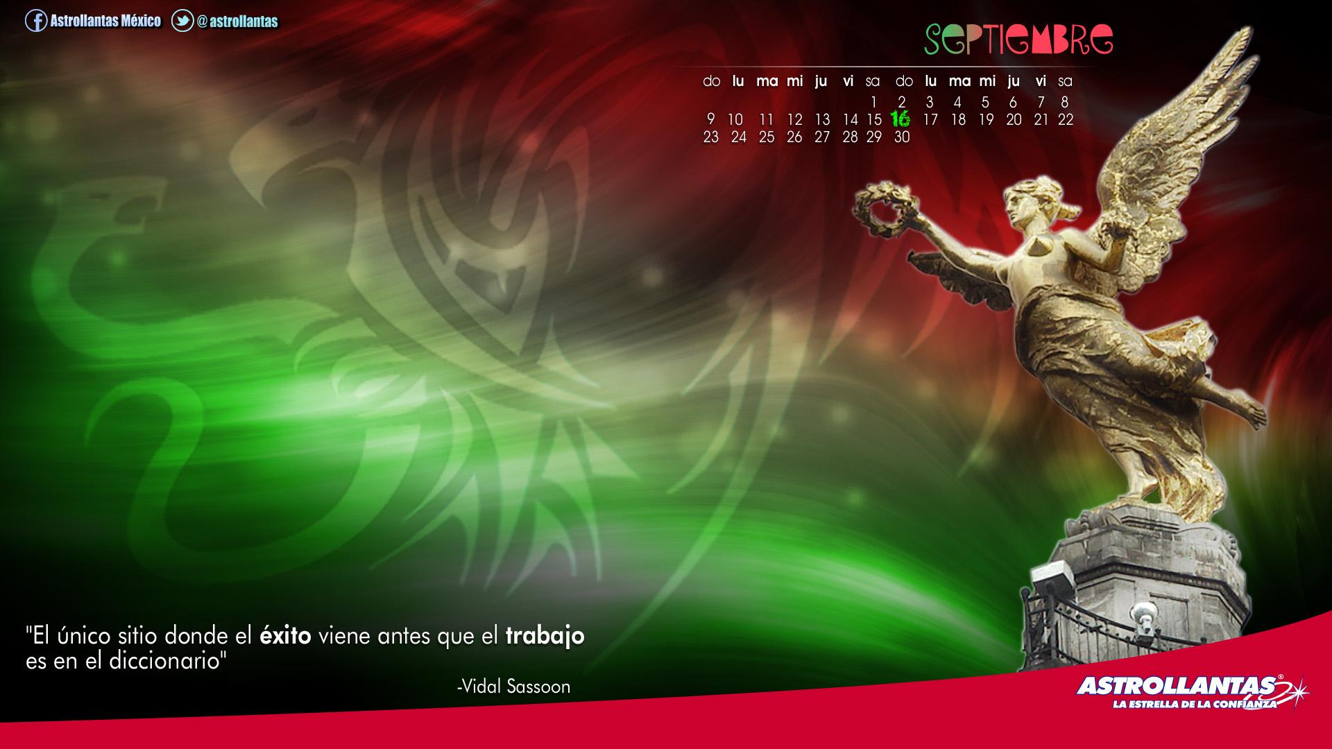Wallpaper calendario Septiembre by kristinahetfield on DeviantArt