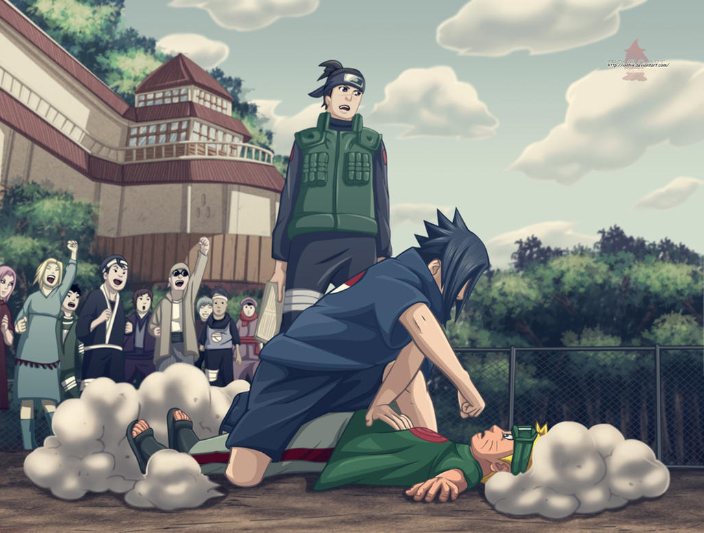 Download Wallpaper Naruto Deviantart - wallpaper_naruto_vs_sasuke_by_pedrohbw-d3gt4jp  Pic_257639.jpg