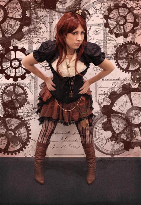 SteamPunk Captain by Annechan-Mana-