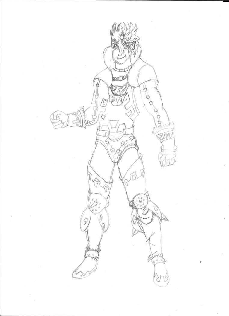 AC - Mizael-Hikari pt 2. Ganondorf by Panthers07