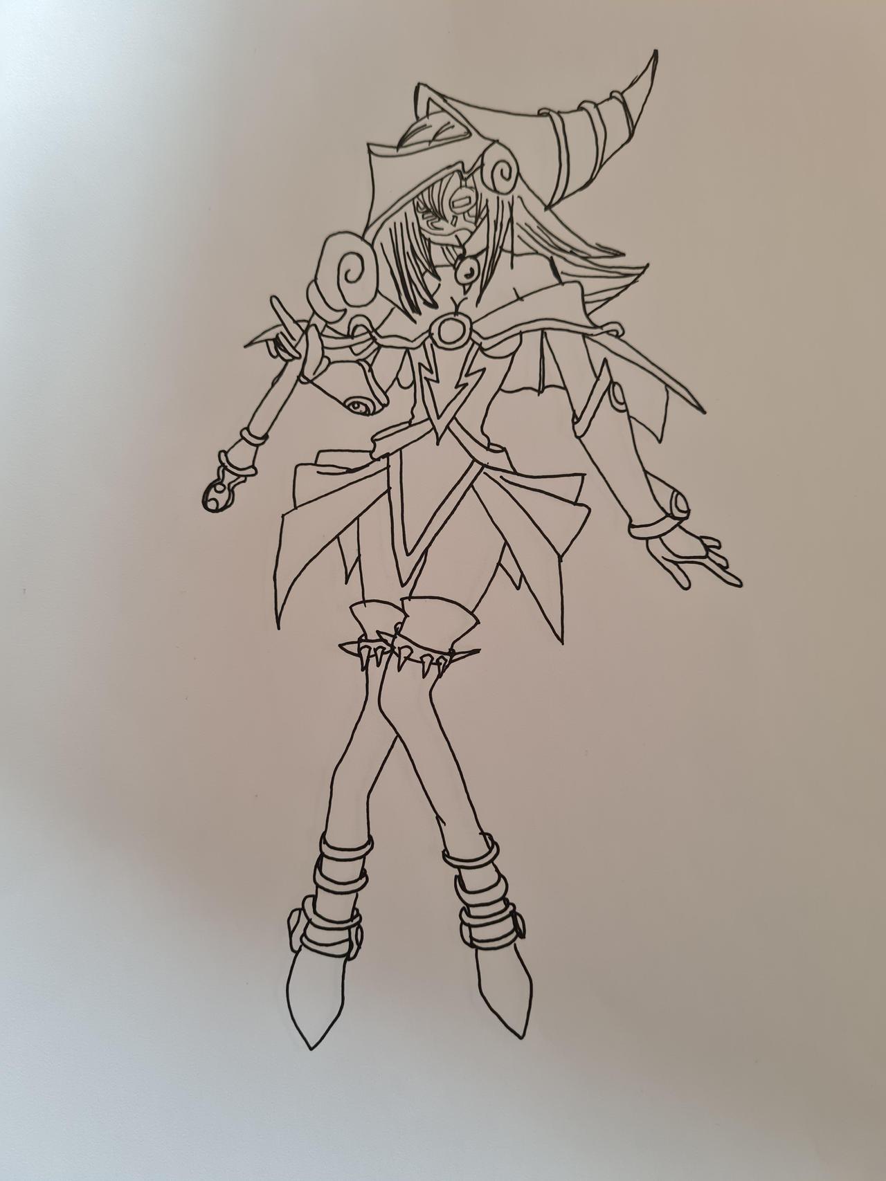 Malefic Dark Magician Girl