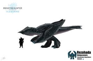 Rezahada-Monster Hunter- Fan art by PrettyFlacko808