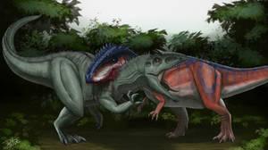 Giga(Ark) vs Giga(Dino Crisis 2)