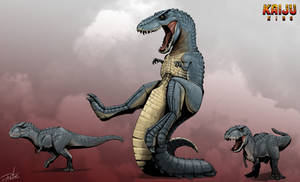 Kaiju King: Gorosaurus and V.rex
