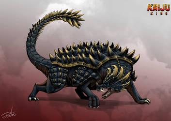 Kaiju King: Anguirus