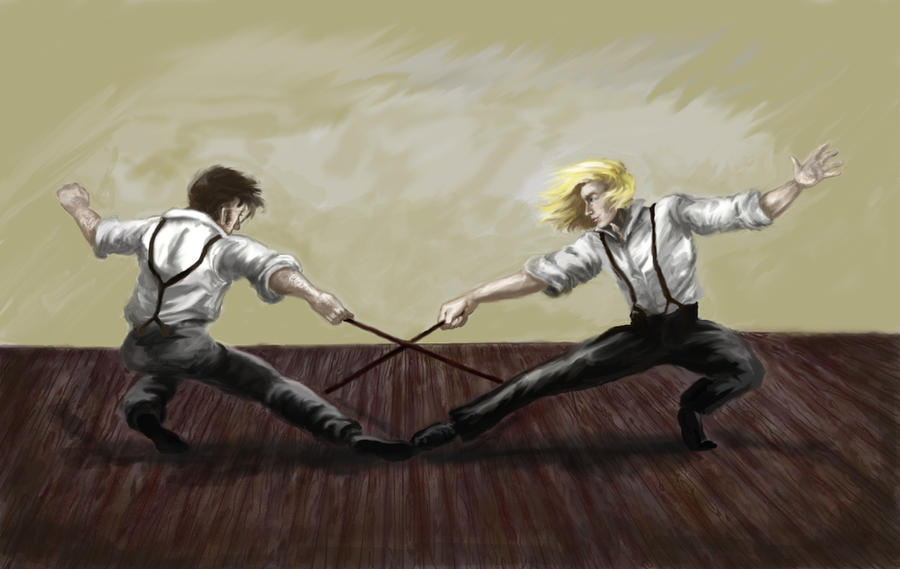 Enjolras And Grantaire Fan Art