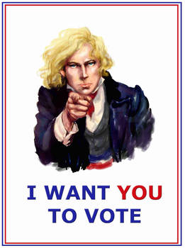 Enjolras wants YOU to vote