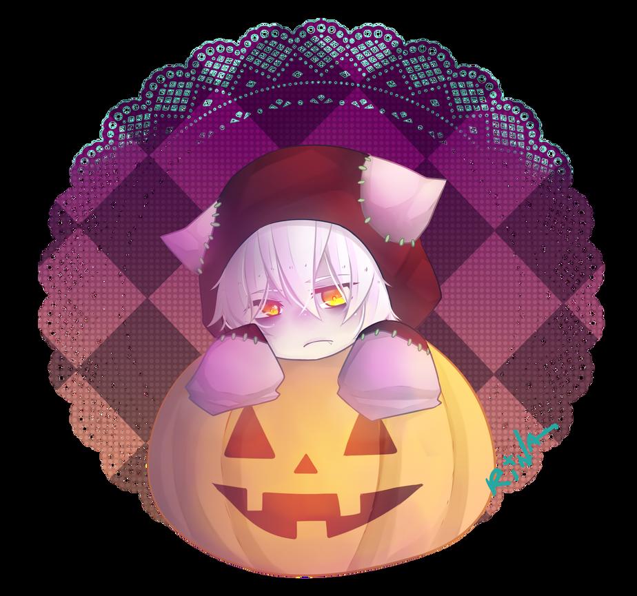 halloween? by monochromechan
