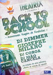 'Back To School' party flyer