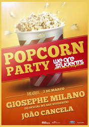We Are Students Popcorn Party by BK1LL3R