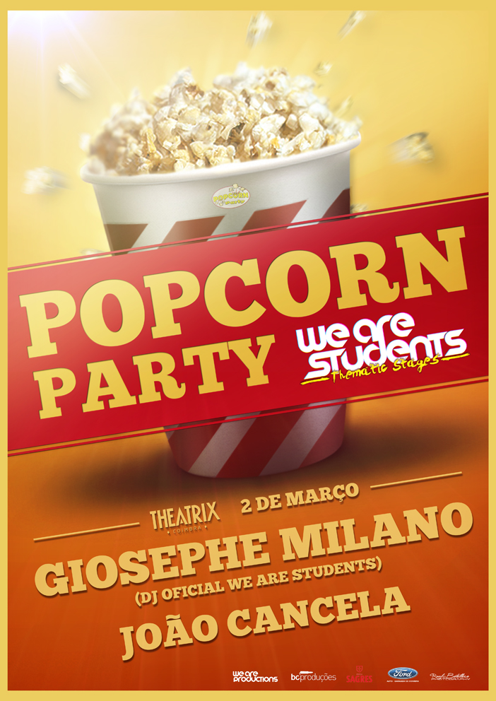 We Are Students Popcorn Party By Bk1ll3r On Deviantart