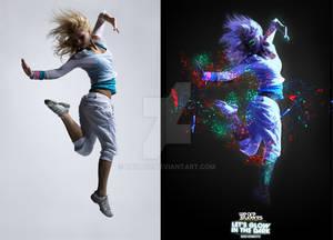 Let's Glow In The Dark work comparison