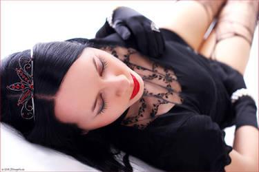 Sleeping Princess by blackfantastix