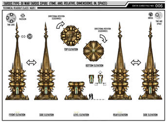War Tardis Type-91 Spire by Time-Lord-Rassilon