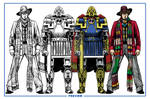 Doctor Who Model Sheet Colour Preview