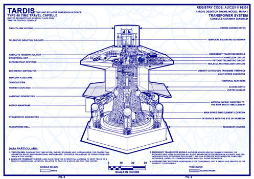 TARDIS Master Schematics Page 8-9