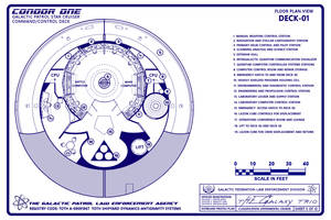 Condor One Schematic 5 of 12 General Plans