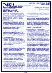 TARDIS Master Schematics Page 19