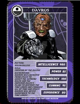 Time War Card Game-Davros Final