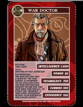 Time War Card Game-War Doctor
