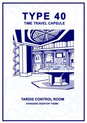 TARDIS Master Schematics TARDIS Control Room