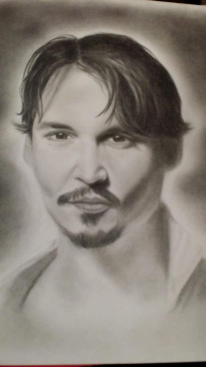 Johnny Depp by Mayeaux