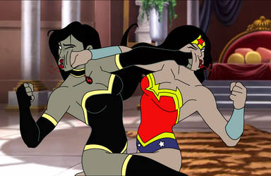 Superwoman vs Wonder Woman: Finale 59 by Sinafurutan