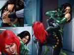 Commission: Black Widow vs Madame Hydra (2 of 6)