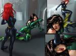 Commission: Black Widow vs Madame Hydra (6 of 6)