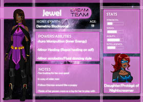 Dream Team app: Jewel -OUTDATED- by CrimsonRobin