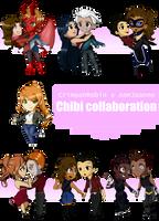 C x A chibi collaboration