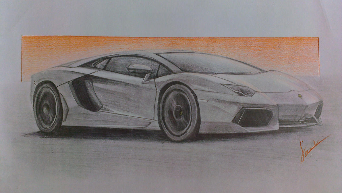 lamborghini aventador by fncpanther