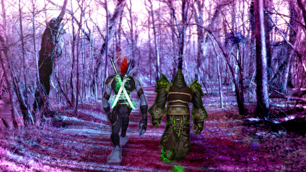 A Walk in the Woods by Animellarex