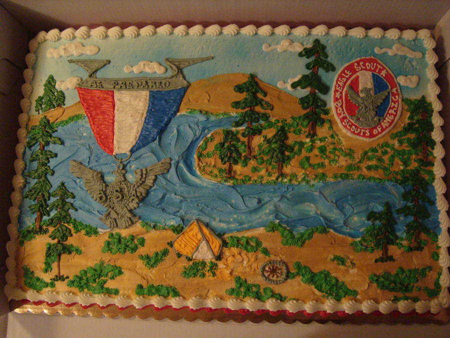Eagle Scout Cake Art By Nlpassions On DeviantArt