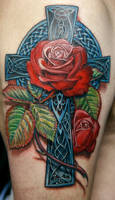Celtic Rose by TodoArtist