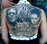 Frankenstein Backpiece