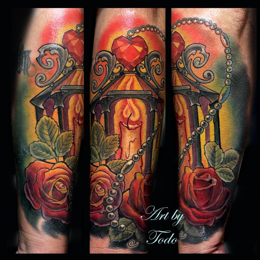 Ruby Lantern Tattoo By Todo By TodoArtist ...