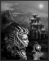 Alien Queen by TodoArtist