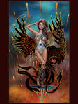 Black Phoenix by TodoArtist