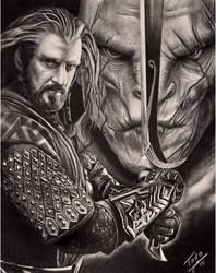 Thorin and Azog