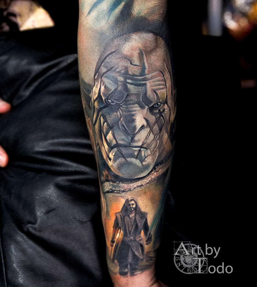 Azog-by-Todo-ABT-Tattoo by TodoArtist