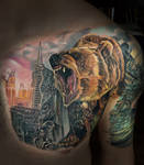 GRIZZLY by Todo ABT Tattoo by TodoArtist