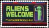aliens welcome
