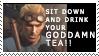GODDAMN TEA by Brittlander